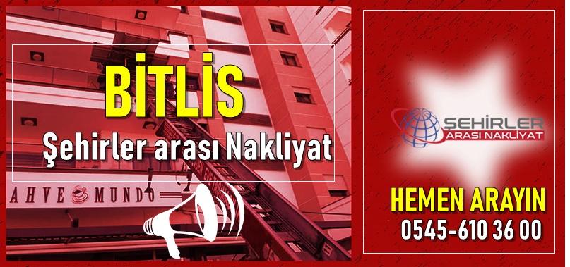 Bitlis Şehirler arası Nakliyat Firmaları